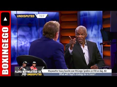 Skip Bayless asked million dollar question on National TV & FREEZES, Floyd Mayweather Destroys Skip