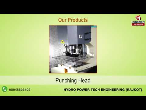 Hydraulic Press Machine By Hydro Power Tech Engineering, Rajkot
