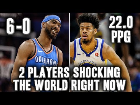 Two Players Shocking The NBA Right Now | Corey Brewer Saving The Thunder's Season?