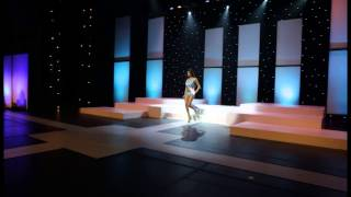 Miss Ohio USA 2014, Madison Mari Gesiotto, in the Swimsuit Competition at Miss Ohio USA