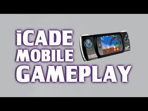 ICade Mobile Demo / Gameplay - Game Controller For IPhone & IPod Touch