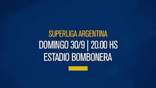 Hoy juega Boca! 👉 Superliga | Fecha 7 ⚽ Vs. Colón 📅 Domingo 30/9 ⏱ 20:00 📌 La Bombonera 👤 Germán