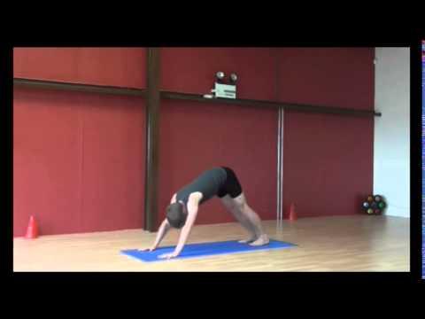 power yoga sun salutation sequence a  youtube