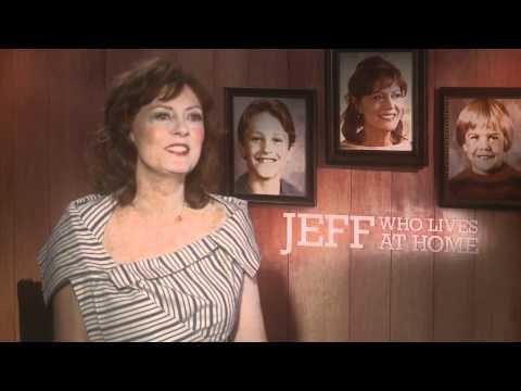 Jason Segel, Ed Helms, Judy Greer, Susan Sarandon interviews - JEFF, WHO LIVES AT HOME