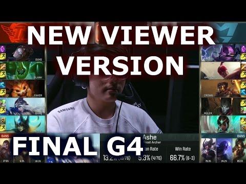 Samsung vs SK Telecom T1 Game 4 - New Viewer Stream | Grand Finals LoL S6 Worlds 2016
