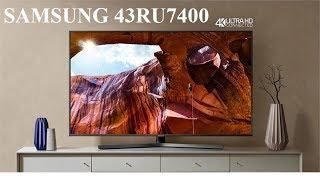 Samsung UA43RU7400 -Tivi 4K 43 inch 2019 tìm kiếm giọng nói tiếng việt