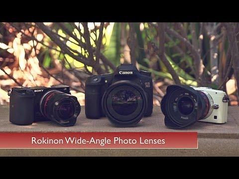 Rokinon Wide-Angle Photo Lenses