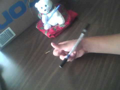 Pen Spinning Thumbaround Reverse Tutorial