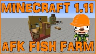 minecraft 1 11 afk fish farm tutorial never needs updated