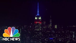 Empire State Building Lit In Honor Of Ruth Bader Ginsburg | NBC News