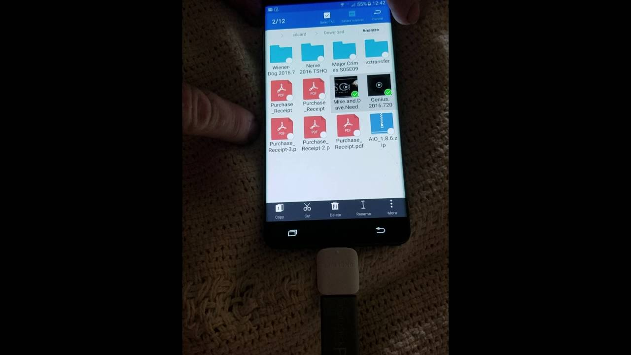 Samsung Note 7 screen mirroring on Vizio