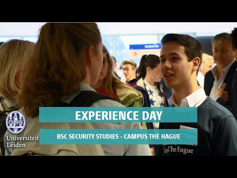 Experience Day BSc Security Studies Leiden University - Campus The Hague