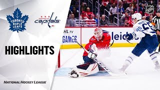 Maple Leafs @ Capitals 10/16/19 Highlights