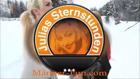 JuliaStern und DirtyAnja Fotoshooting im Schnee