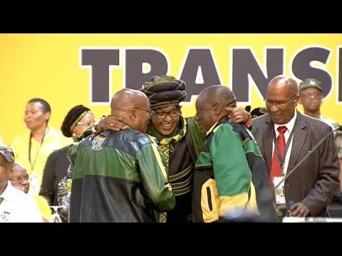 African National Congress (ANC) 54th National Conference Opens in Johannesburg