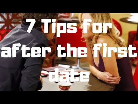 After first date tips