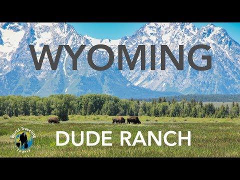 Wyoming Dude Ranch Cowboy Life