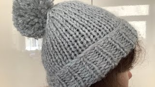 Learn To Knit - How To Knit A Hat - Super Chunky - UK