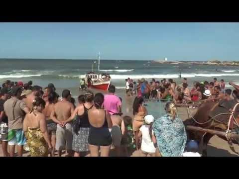 Sorpresa en Punta del Diablo: pescadores sacaron 60 tiburones