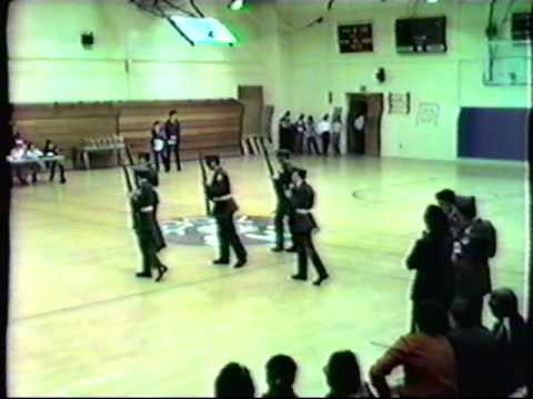 Waltham Massachusetts JROTC tape3 part3of3 Tina Sottile