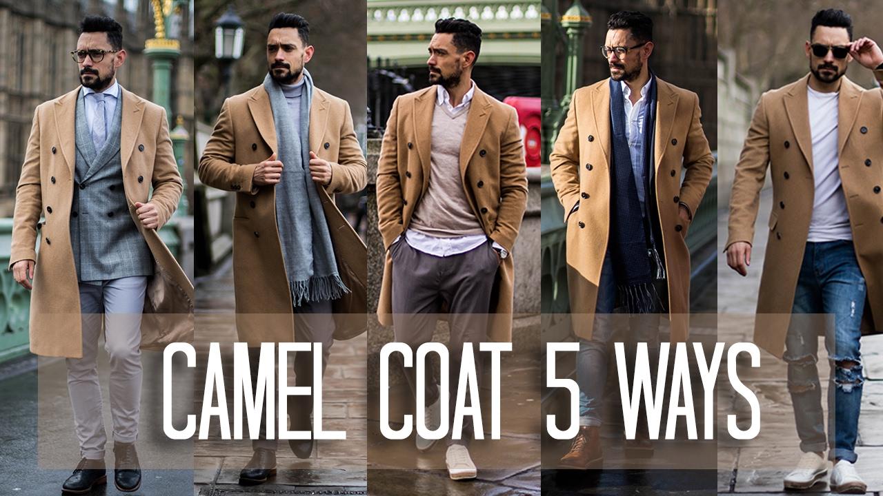 03c170fa605cc How to Wear a Camel Coat 5 ways