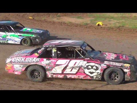 Salina Speedway Budweiser IMCA Hobby Stocks *Fan Appreciation* 9/18/16