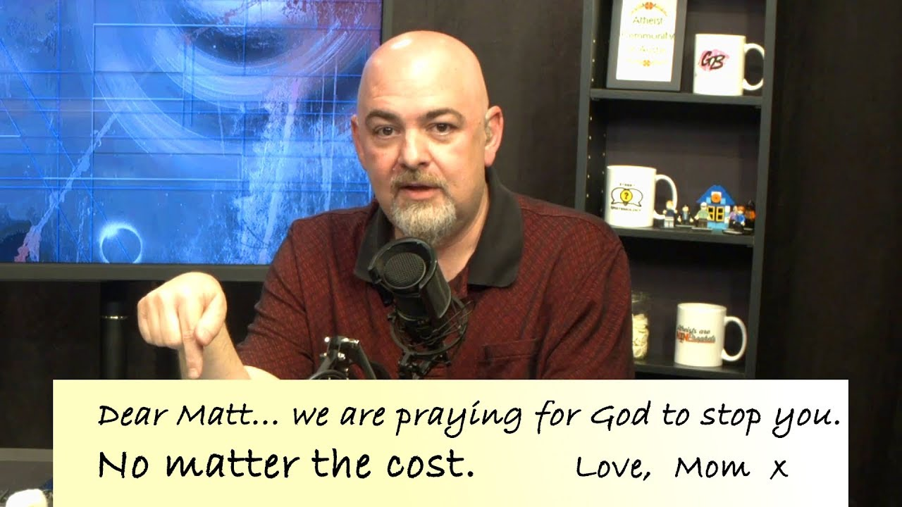 Matt Dillahunty opens up about the toxic words from his own parents