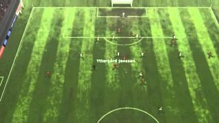 Evian TG FC vs FC Bayern - Yttergard Jenssen Goal 51 minutes