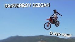 JUMPING MY DIRT BIKE WITH MY HAND OFF!!!