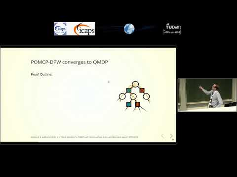 """ICAPS 2018: Zachary N. Sunberg on """"Online Algorithms for POMDPs with Continuous State, Action, ..."""""""