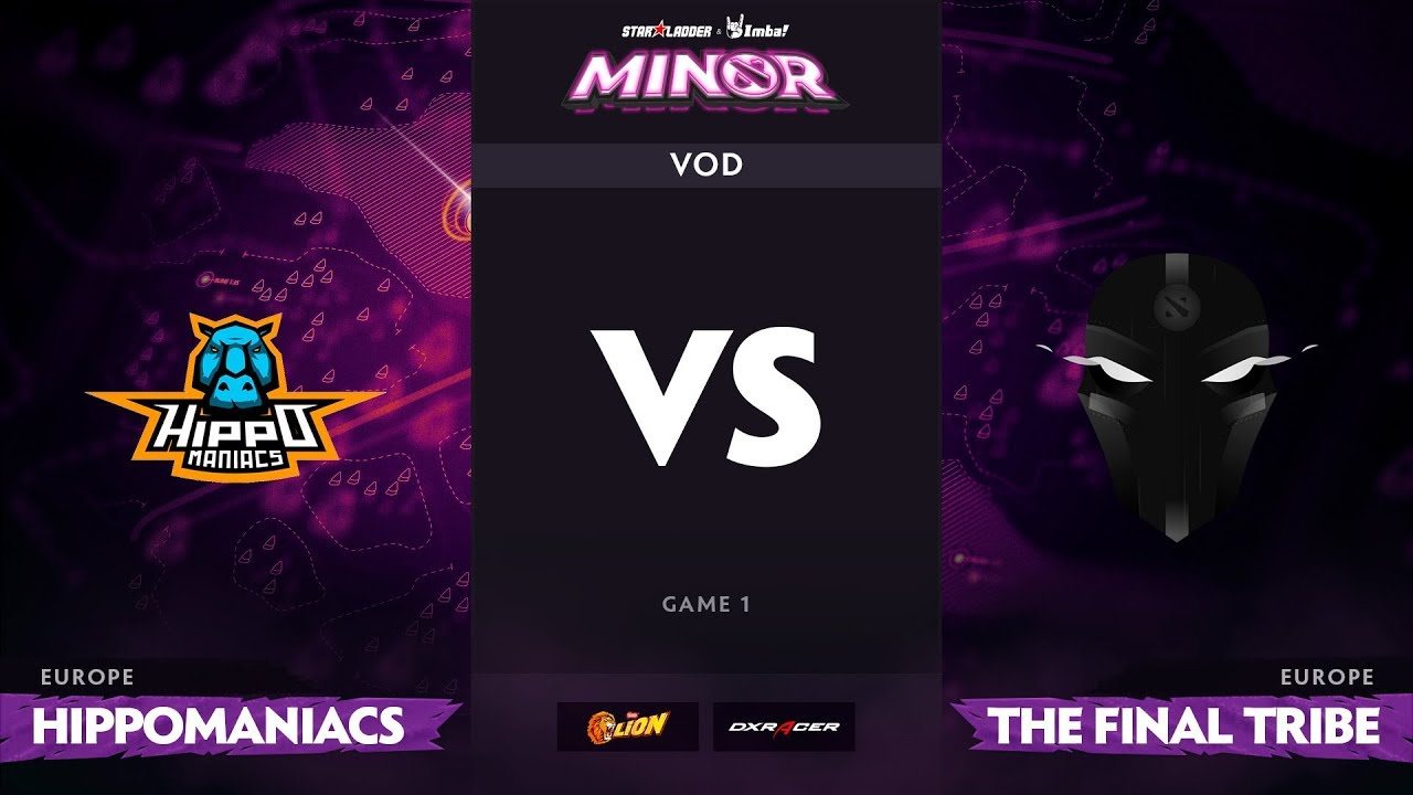 [RU] Hippomaniacs vs The Final Tribe, Game 1, StarLadder ImbaTV Minor S2 EU Qualifiers