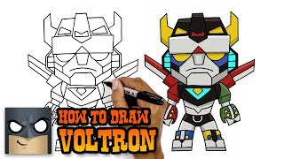How to Draw Voltron | Art Tutorial