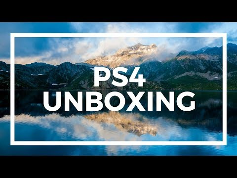 PS4 UNBOXING LIVE STREAM