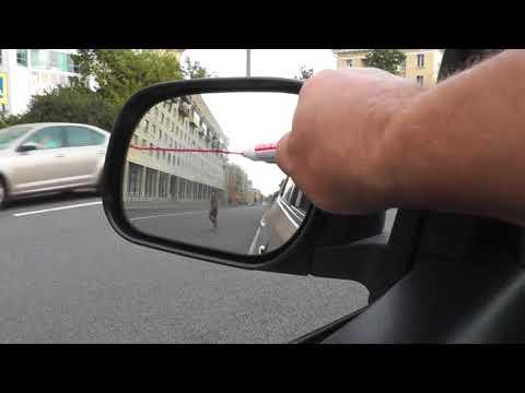 Как правильно выставить зеркала на автомобиле
