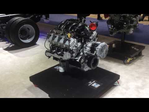 Ford 7.3 Liter Gas Engine Walk-around