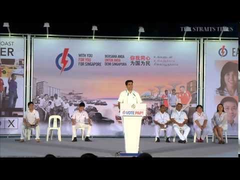 PAP rally @ Bedok Stadium