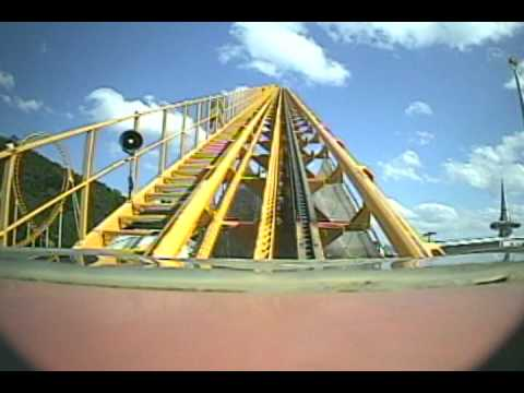 Black Hole Express Roller Coaster POV Kumdori Land South Korea Horror Express