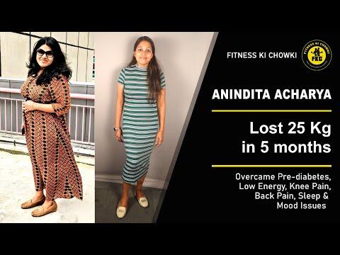 transformation-stories- -anindita's-post-pregnancy-weight-loss-of-25-kg!- -fitness-ki-chowki- -fkc