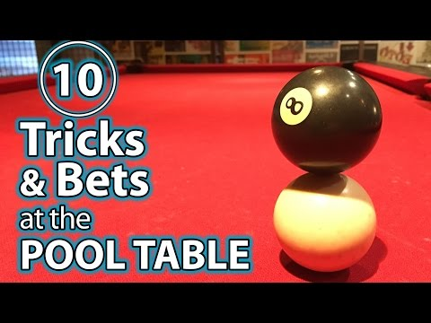 10 Best Trick Shots, Bets & Pranks at the POOL TABLE!