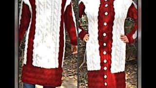 женский осенний кардиган, вязание спицами