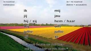 Learn Dutch: personal pronoun / Dutch lesson / Nederlandse les / persoonlijk voornaamwoord