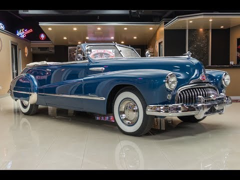 1948 Buick Roadmaster Convertible For