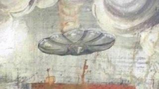 Niezwykły wizerunek UFO odnaleziony namalowidle wrumuńskim kościele