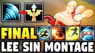 My Last Lee Sin Montage | Heizman Lee Sin Montage 20 - League of Legends