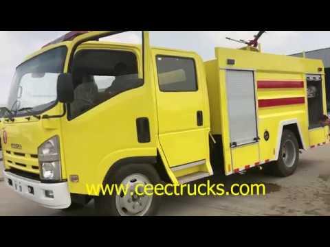 Test Fire Fighting Truck, CEEC TRUCK .