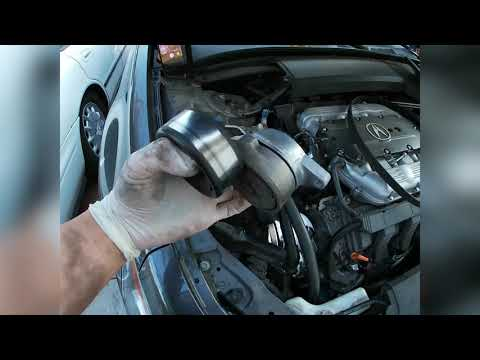 2009-2014 Acura TL – How to Replace Drive Belt Tensioner – DIY