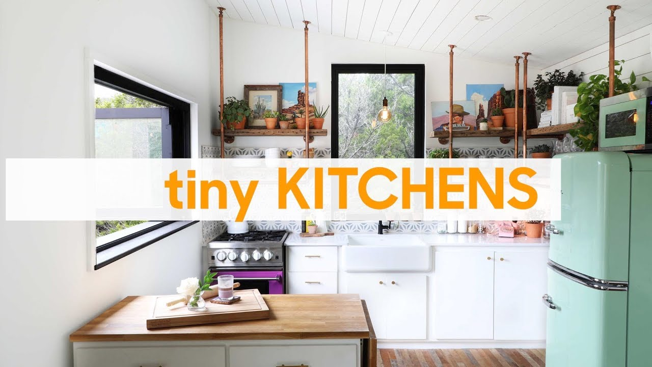Small Kitchen Design and Open Shelving Tips