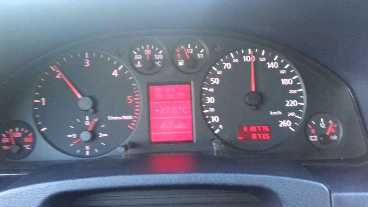 audi a6 tempomat cruise control working youtube rh youtube com 99 Audi A6 Tan Color 99 Audi A6 2.8 Quattro