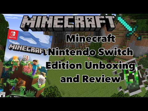 Minecraft: Nintendo Switch Edition l  Unboxing and Review