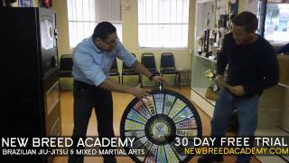 New Breed Mixed Martial Arts - Prize Wheel w/ Professor Chris Woolford